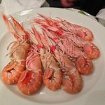 Great langoustines. Sweet, fresh taste even the eggs are nice.