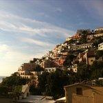Positano Morning . Veiw from terrace