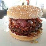 Spicy Bacon Burger