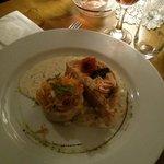 saumon epinard