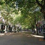 Pioneer Square walkway
