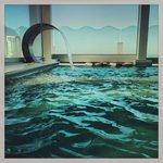 il centro spa con vista mare