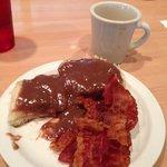 Chocolate gravy & biscuit ! Gondola-McMinville, TN