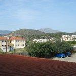 View towards Kritsa from hotel balcony