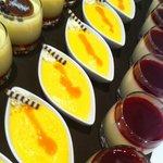 Dessertbuffet am Samstagabend