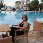 Mitsis Galini Wellness Spa & Resort  Pool area