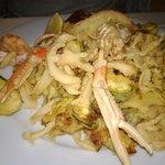 Fritto misto con zucchine