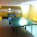Tischtennis und Kickerraum