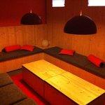 Ruhebereich Sauna