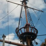 The fighting top of Golden Hinde 2