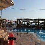 Basseng og poolbar