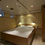 Port double cabin with en-suite bathroom, flatscreen with dvd, airo, free Wi-Fi and small desk.