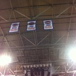 Championship banners from some time ago.....