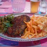 entrecote frittes