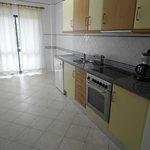 Kitchen 1 Bed Apartment Atlantico 3