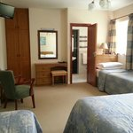 One of the lovely family rooms