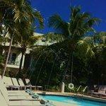 The pool at Santa Maria Suites