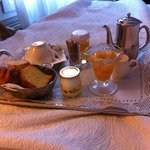 Breakfast Tray in the bedroom