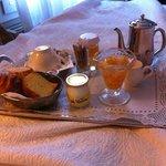 Breakfast Tray in the bedroom