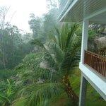 Villa im Tropenregen