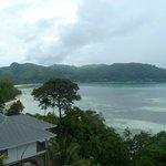 Blick in die Bucht von der Villa