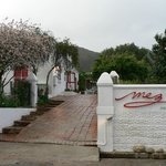 The entrance to Mez Karoo Kitchen as viewed from Van Riebeeck Street