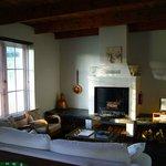 The Malette living room