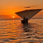 Sunset from a dhow