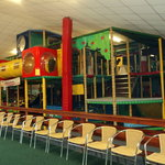 Our large 3 storey indoor play area