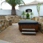 Terrasse mit Jacuzzi