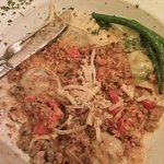 Ravioli with Bolognese sauce