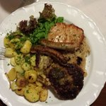 A grilled meat plate!