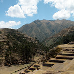 Terraces & valley at Chinchero (Sacred Valley)