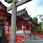 Torii y templo