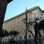 Фасад отеля Naples