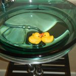 glass bowl for rubberduckys