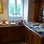 Frühstük beautifully set up