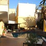 Hotel Ideon swimming pool