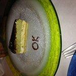 Ottimo dessert pistacchio e vaniglia