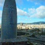Vista diurna Torre Agbar
