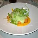 From Sunday brunch a vegetarian portion (main course)