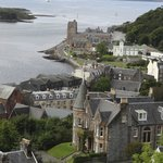 Oban from the hillside