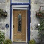 A welcoming front door!