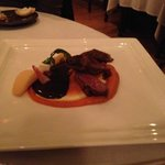 the duck with sweet potato