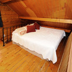 Full Sized bed (sleeps 2) in loft