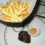 US-Beef mit Frites - excellent