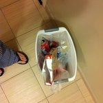 Trash never taken out
