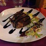 Filetto olio rosmarino con glassa balsamica !