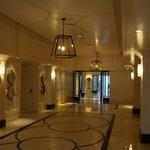 Ballroom corridor