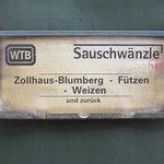 WTB = Wutachtalbahn = Sauschwänzlebahn